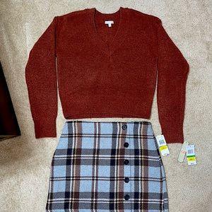 NWT Gianni Bini Sweater SZ L & Skirt SZ XL Set